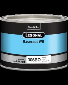 Lesonal Basecoat WB 306BO SEC Brilliant Orange 500ml
