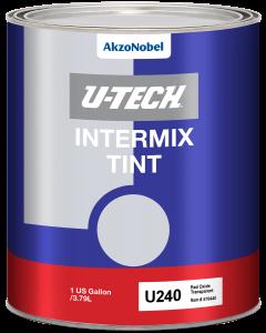 U240 Intermix Tint Red Oxide Transparent 1 US Gallon