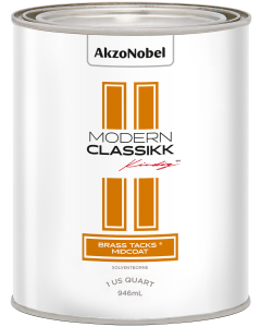 Modern Classikk Brass Tacks Midcoat (Requires Brass Tacks Groundcoat) Solventborne 1 US Quart