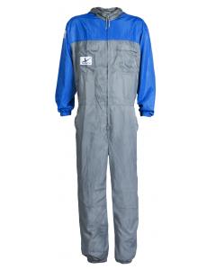 AkzoNobel i-wear Spray Coverall Extra-Small Grey/Light Blue Each