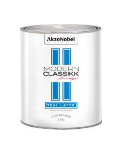 Modern Classikk Teal Later Waterborne 1 US Gallon
