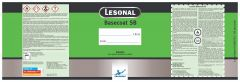 Lesonal Basecoat SB Quart Mixed Color Label Each