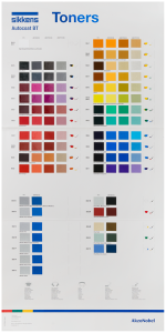 Sikkens Autocoat BT Toner Wall Chart (for CV Only) Each