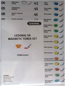 Lesonal SB MM Toner Magnet Set Each