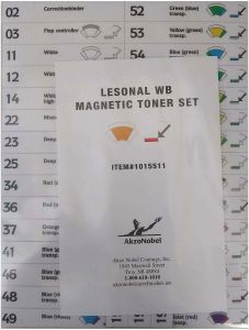 Lesonal WB MM Toner Magnet Set Each