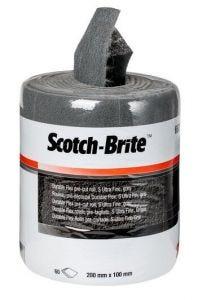 3M SCOTCH-BRITE DURABLE FLEX S UFN 100MM X 10M