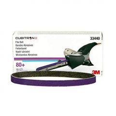 3M™ Cubitron™ II Feilenbänder 80+ Inhalt 10 Bänder 10 x 330 mm