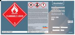 Autocoat BT LV151 DTM RM Label PL/DR 25PK