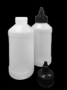Plastic Bottle and Cap Kit 8oz