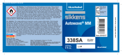 Sikkens Autowave® Label 338SA 8oz 10 Pack