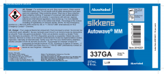 Sikkens Autowave® Label 337GA 8oz 10 Pack