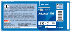 Sikkens Autowave® Label 338NC 8oz 10 Pack