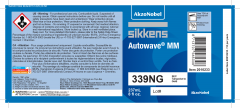 Sikkens Autowave® Label 339NG 8oz 10 Pack