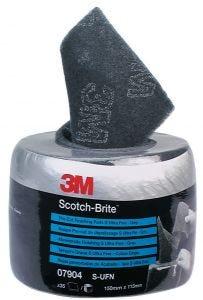 3M SCOTCH-BRITE PRE-CUT GRIJS AUFN 115X150MM ROL