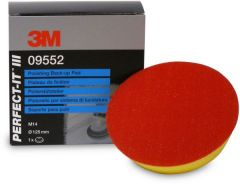 3M PERFECT-IT HKT STEUNSCHIJF DIA 125MM M14 AANSLUITING