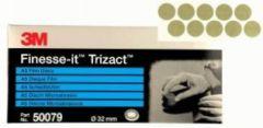 3M™ Finesse-it™ Trizact™ Film Schleifblüten 466LA Schleifblüte auf Bogen, 10 x 10 Bögen 32 mm