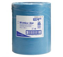 KIM WYPALL X80 WIPES-LARGE ROLL 8374