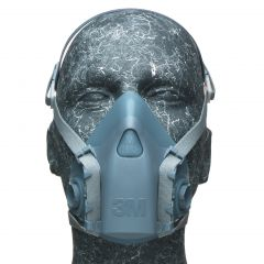 3M REUSABLE HALF MASK SMALL 7501
