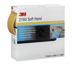 3M™ Soft Hand Rolle 216U Soft Hand Rolle 216U 115 mm x 25 m P600