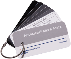 Sikkens Autoclear Mix&Matt - MATT LEVEL SWATCH
