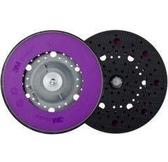 """3M™ Hookit™ Direct Flow™ II Universal Multihole Stützteller ø 150 mm, Multihole, 5/16"""", standard, grau 51122"""