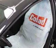 COLAD PLASTIC SEAT COVERS 100PC 6110