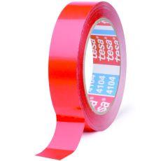 TESA 4104 LONG LINE TAPE RED 15MMX66M