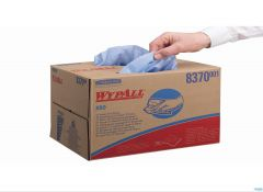KC WYPALL X60 POETSDOEK BLAUW POP-UP DOOS