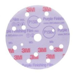 3M 260L HOOKIT PURPLE 150MM 15GATEN P600 50ST