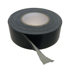 RHIWA DUCT TAPE ZWART 50MM X 50M