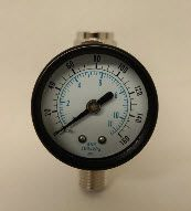 INP PRESSURE GAUGE W/REGULATOR 27033K