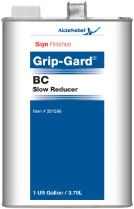 Sign Finishes Grip-Gard BC Slow Reducer 1 US Gallon