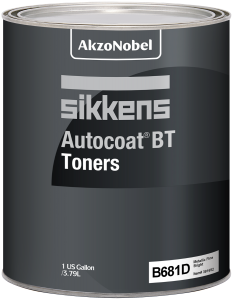 Sikkens Autocoat BT Toner B681D Metallic Fine, Sparkling 1 US Gallon