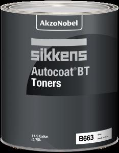 Sikkens Autocoat BT Toner B663 Blue Violet Transparent 1 US Gallon