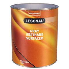 Lesonal Gray Urethane Surfacer 1 US Gallon