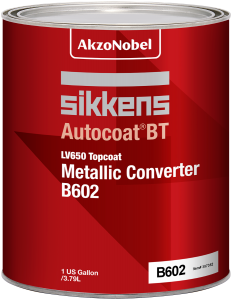 Sikkens Autocoat BT LV650 B602 Topcoat Metallic Converter 1 US Gallon