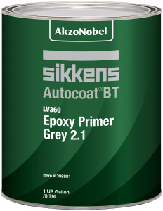 Sikkens Autocoat BT LV360 Epoxy Primer Grey 2.1 1 US Gallon