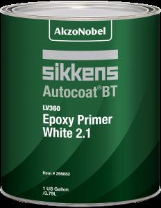 Sikkens Autocoat BT LV360 Epoxy Primer White 2.1 1 US Gallon
