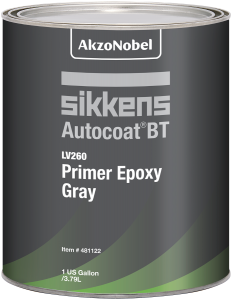 Sikkens Autocoat BT LV260 Epoxy Primer Grey 1 US Gallon