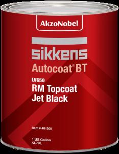 Sikkens Autocoat BT LV650 RM Topcoat Jet Black 1 US Gallon