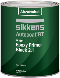 Sikkens Autocoat BT LV360 Epoxy Primer Black 2.1 1 US Gallon