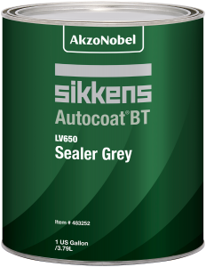 Sikkens Autocoat BT LV650 Sealer Grey 1 US Gallon