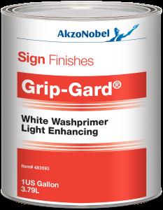 Sign Finishes Grip-Gard White Washprimer Light Enhancing 1 US Gallon