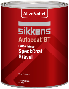 Sikkens Autocoat BT LV650 SpeckCoat Gravel 1 US Gallon