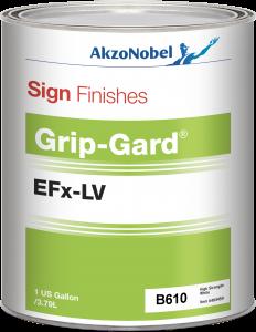 Sign Finishes Grip-Gard EFx-LV B610 High Strength White 1 US Gallon