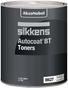 Sikkens Autocoat BT Toner B627 Red Maroon Transparent 1 US Gallon