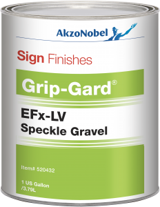 Sign Finishes EFx-LV Speckle Gravel (Speckled Clear) 1 US Gallon