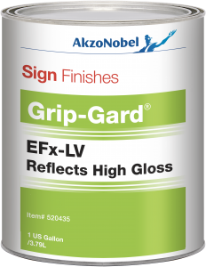 Sign Finishes EFx-LV Reflects High Gloss (Reflective Clear) 1 US Gallon