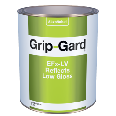 Grip-Gard EFx-LV Reflects Low Gloss (Reflective Clear) 1 US Gallon
