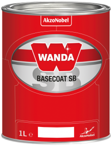 Wanda Basecoat Color MM 2723 Reddish Violet Transparent II 1L